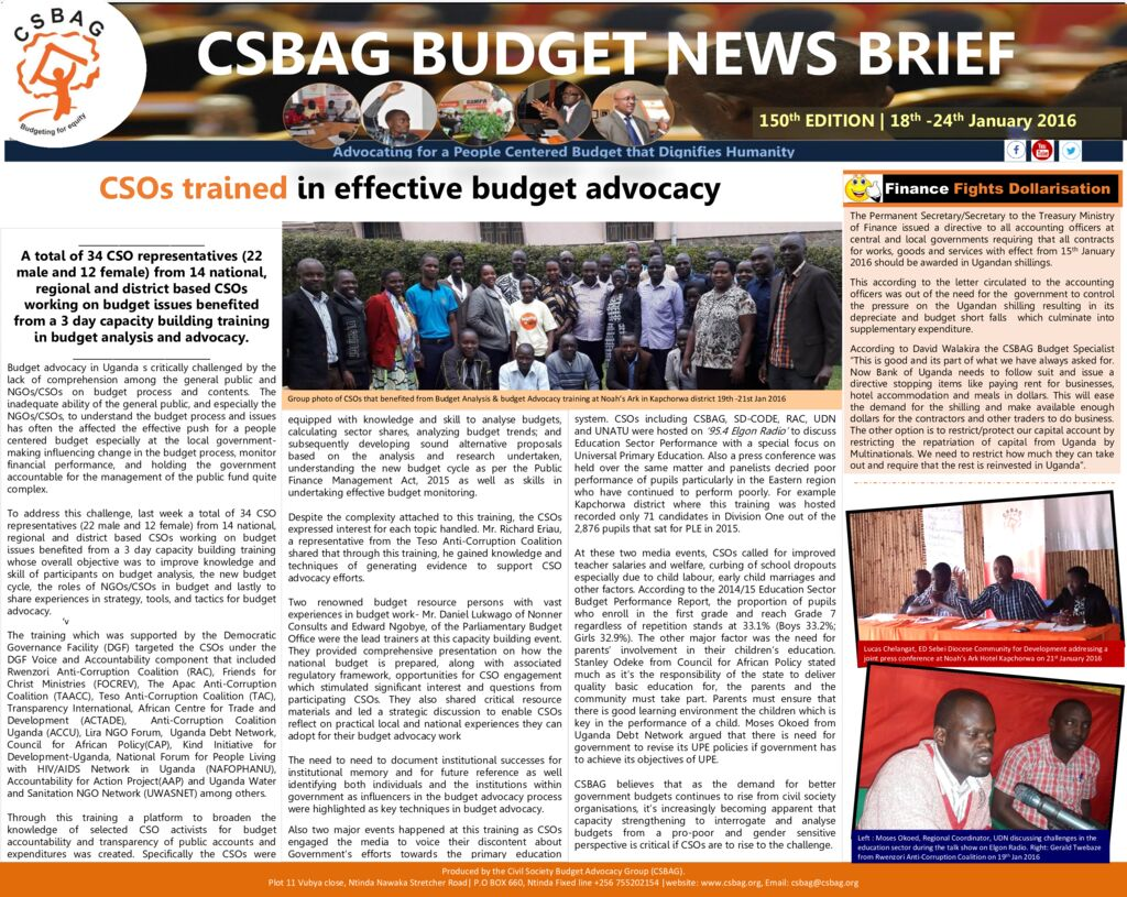 thumbnail of CSBAG BUDGET NEWS.150 24-jan-2020