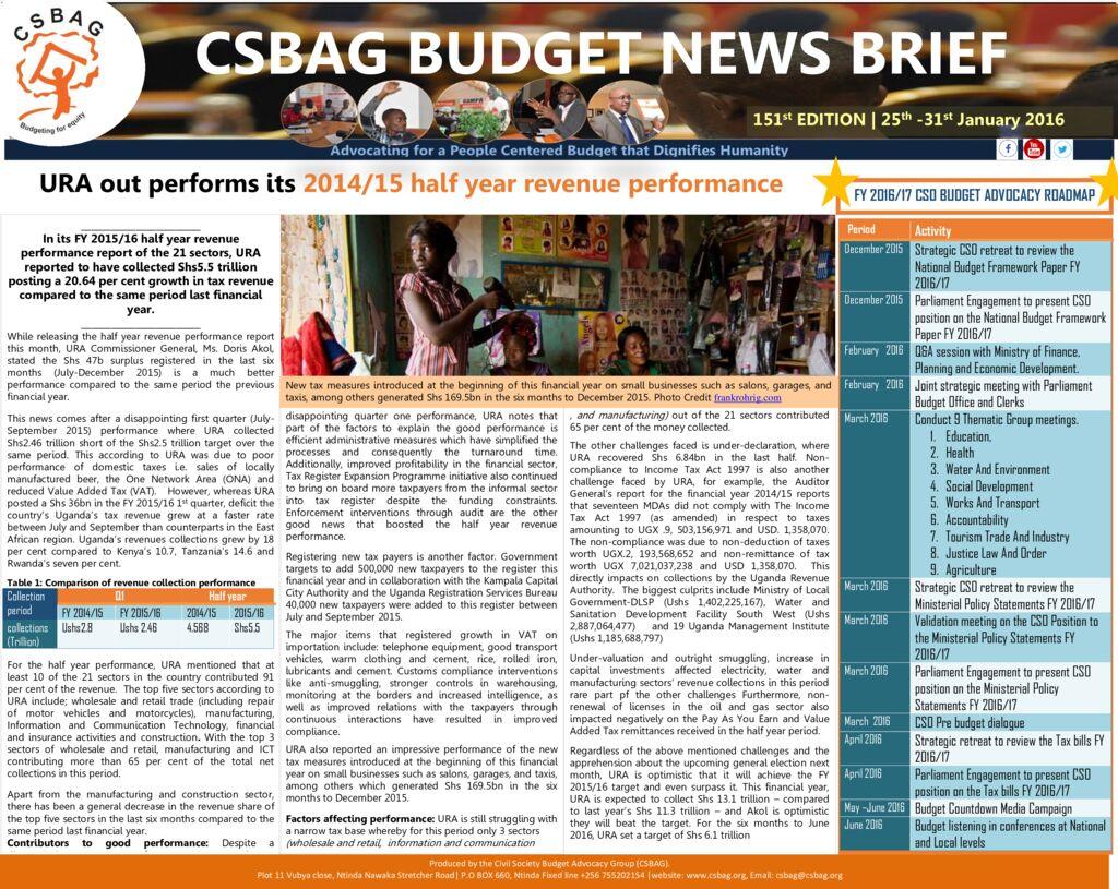 thumbnail of CSBAG BUDGET NEWS.151-31-jan 2016