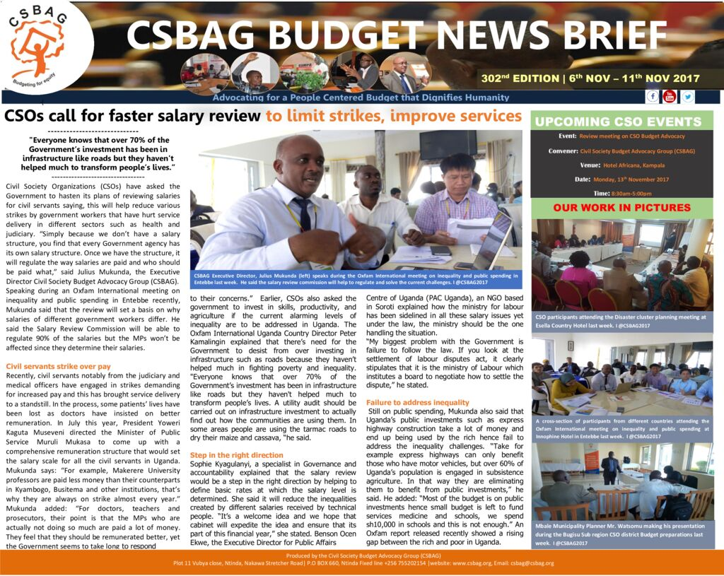 thumbnail of CSOs call for faster salary review to limit strikes, improve services