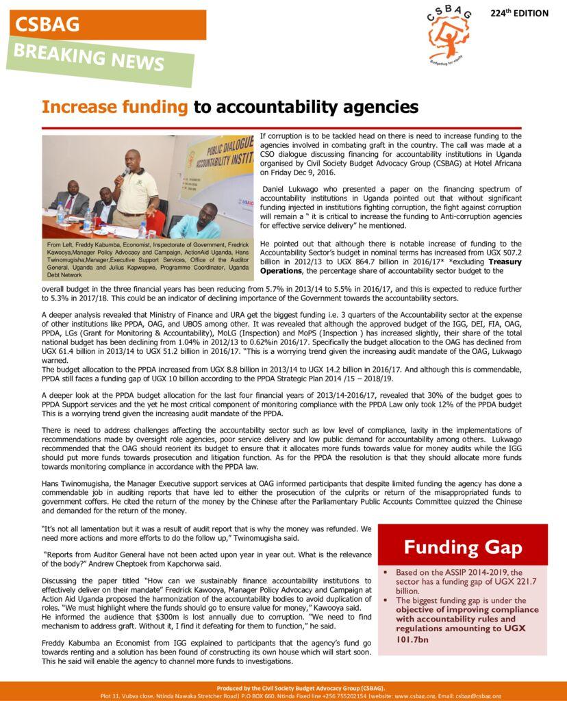 thumbnail of Increase funding to accountability agencies 9th Dec 2020