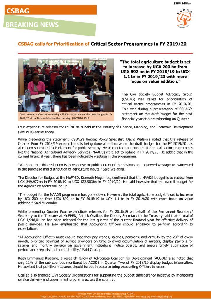 thumbnail of CSBAG NEWS UDDATE- 528