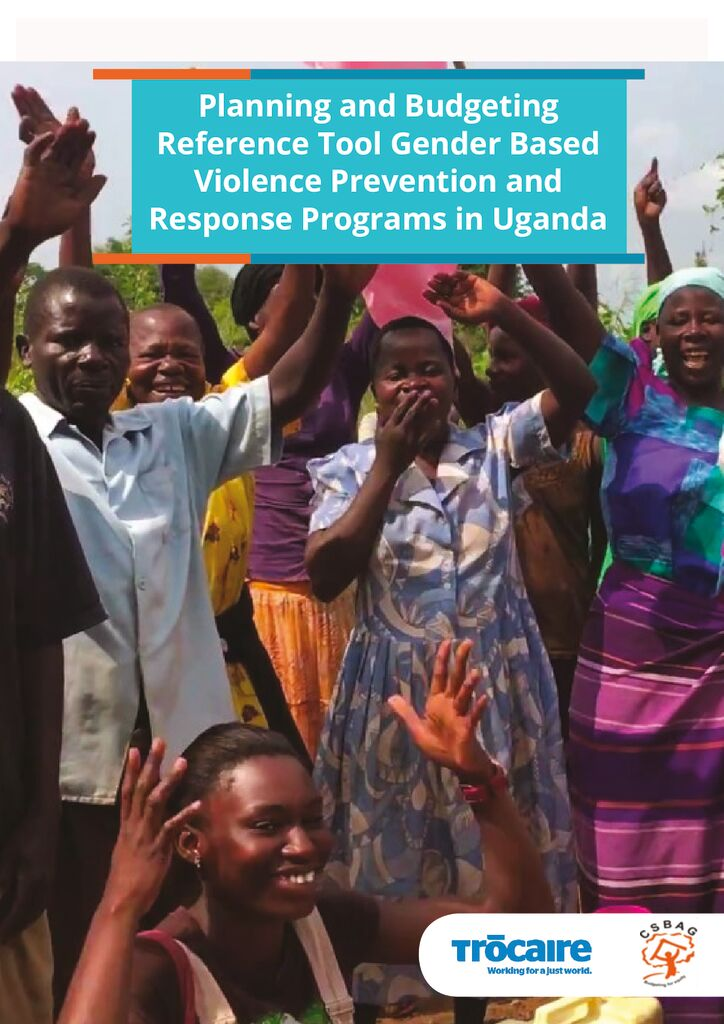thumbnail of Planning and Budgeting Reference Tool for Gender Based Violence Prevention and Response Programs in Uganda