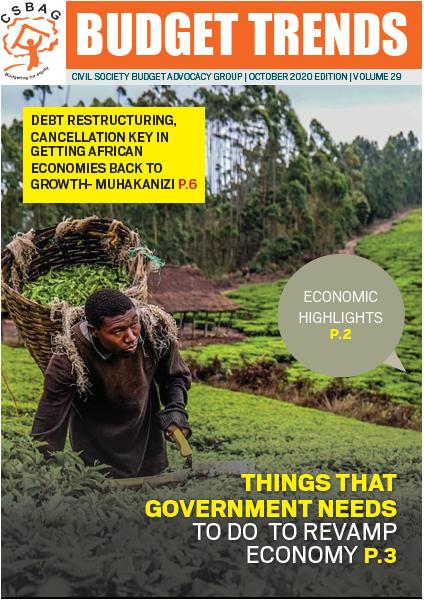 Budget Trends Magazine, October 2020