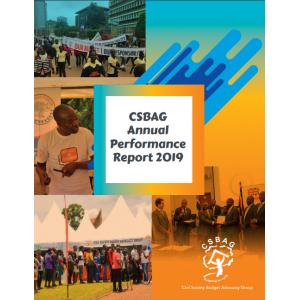 CSBAG Annual Performance Report 2019