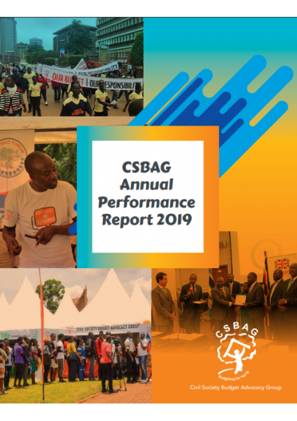 CSBAG Annual Performance Report 2019