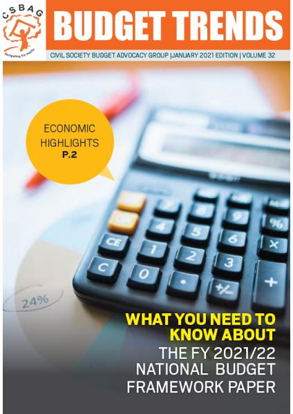 Budget Trends Magazine, January 2021