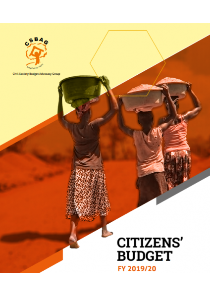 Citizens Alternative Budget FY 2019/20-A Civil Society Position Paper On The National Budget