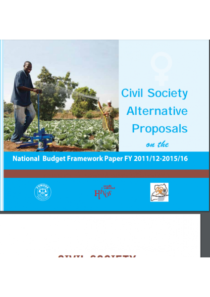 Civil Society Alternative Proposals On The National Budget Framework Paper FY 2011/12-2015/16