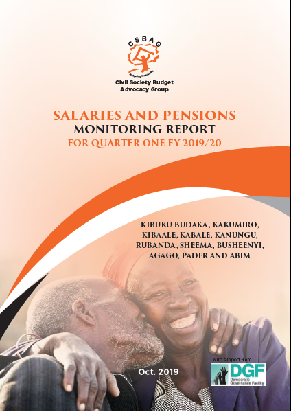Salaries and Pensions Monitoring Report for Quarter FY 2019/20