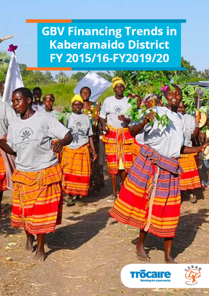 GBV Financing Trends in Kaberamaido District FY 2015/16-FY2019/20