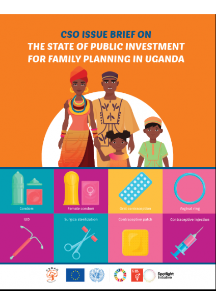 CSO Issue Brief on the State of Public Investment for Family Planning in Uganda