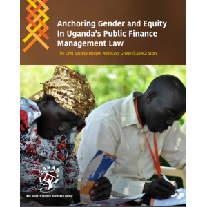 Anchoring Gender and Equity In Ugandas Public Finance Management Law